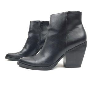 Steve Madden Girl Klicck Faux Leather Ankle Boot